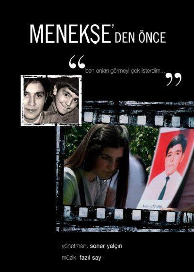 """Affiche du film de Soner Yalçın, """"Menekse'den Önce"""" (2012)"""