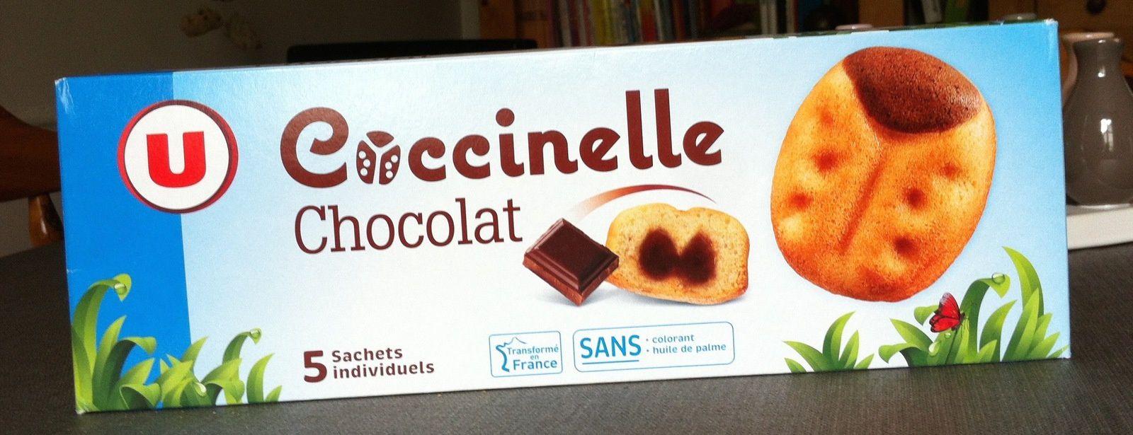 Les gâteaux Coccinelle de Janet