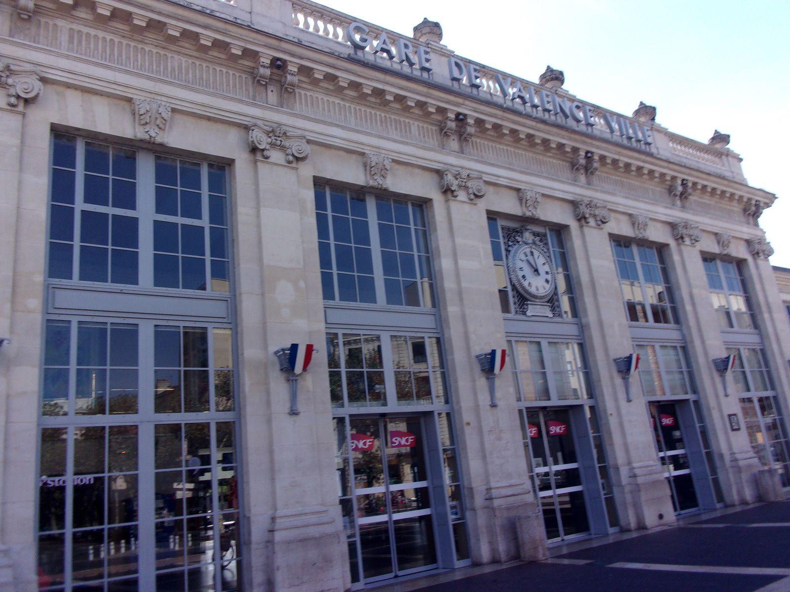 Terminus gare de Valence