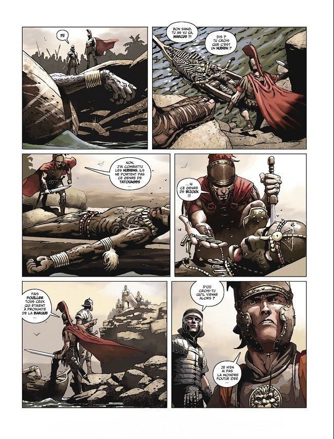 L'expédition tome 2  - La Révolte de Niangara de Marazano et Frusin chez Dargaud.