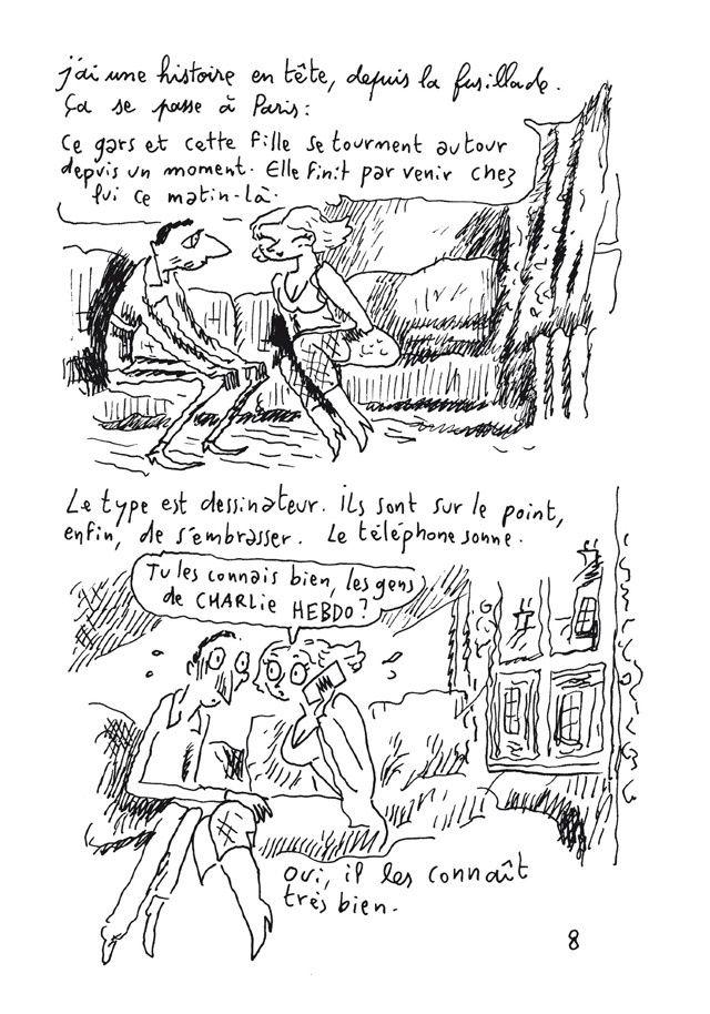 Carnets de Joann Sfar – Et si Dieu existe de Joann Sfar chez Delcourt.
