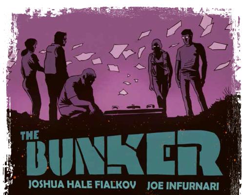 The Bunker – Capsule temporelle de Joshua Hale Fialkov et Joe Infurnari chez Glénat.