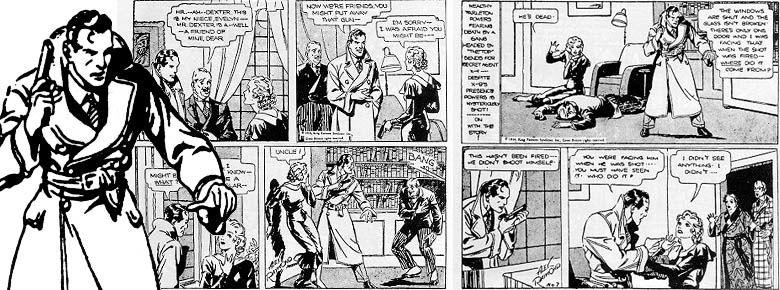 les légendes de la Bande Dessinée par Oncle Fumetti... Agent X9 et Alex Raymond.