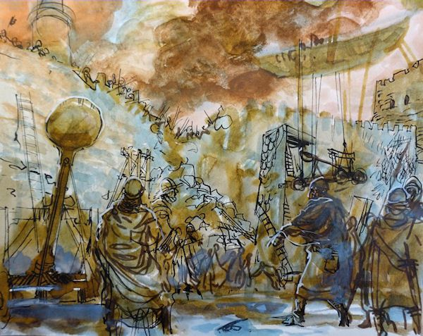 Thorgal – Tome 35 – Le feu écarlate de G. Rosinski et X. Dorison chez Le Lombard.