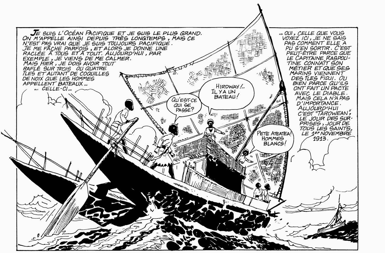 Corto Maltese  la Ballade de la mer salée de Hugo Pratt chez Casterman