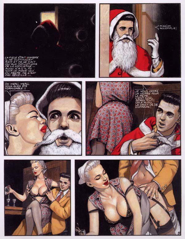 Le page érotique d'Oncle Fumetti... Fripons - oeuvres collectives chez Les Humanoïdes Associés.
