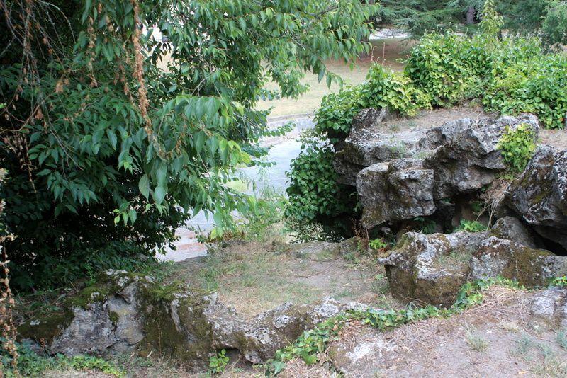 Parc de Chavat - Le parcours d'eau