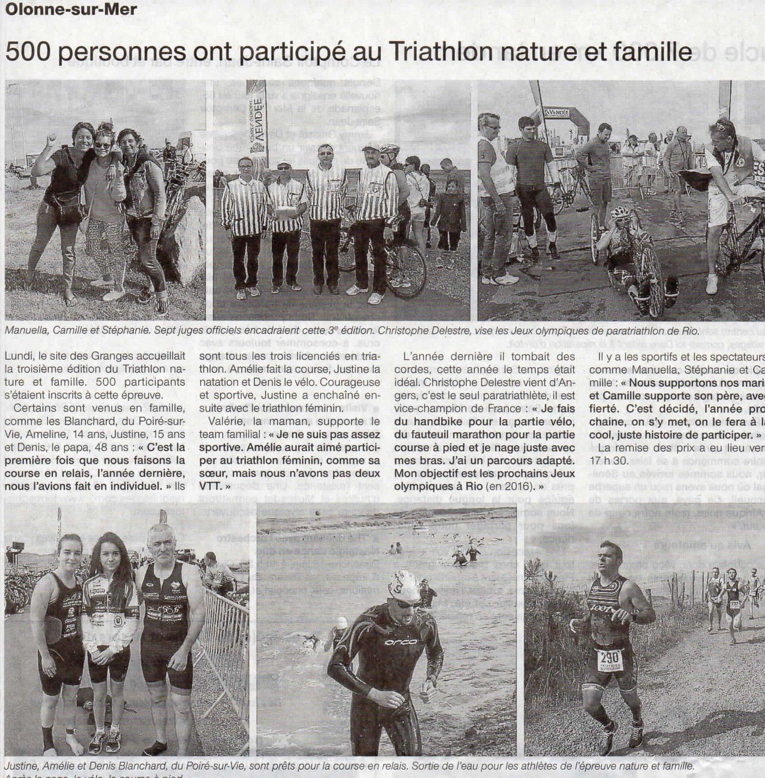 Ouest-France 10 juin 2014 (Local)