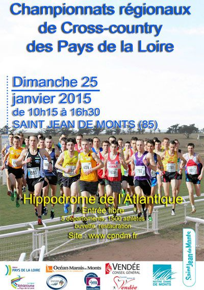 CROSS COUNTRY RÉGIONAUX 2015