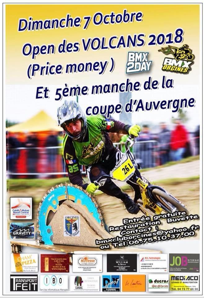 Invitation Orcines, 5e manche de la coupe d'Auvergne