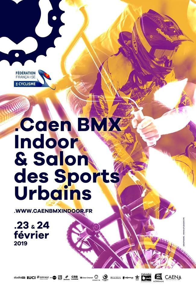 Inscrits pour l'indoor de Caen