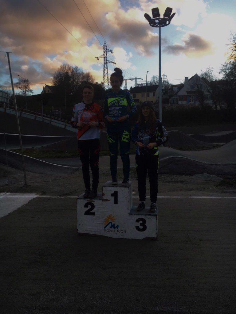 Résultats de la 2e manche du challenge AURA à Montluçon, Diego sur le podium.