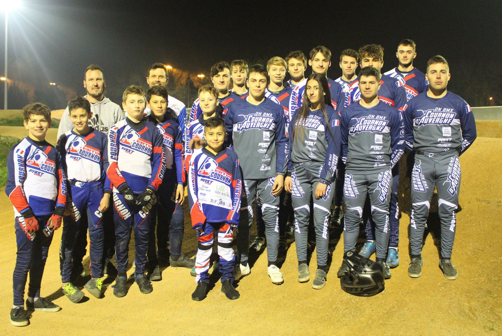 Officialisation de la division nationale 2 Bmx Cournon D'Auvergne