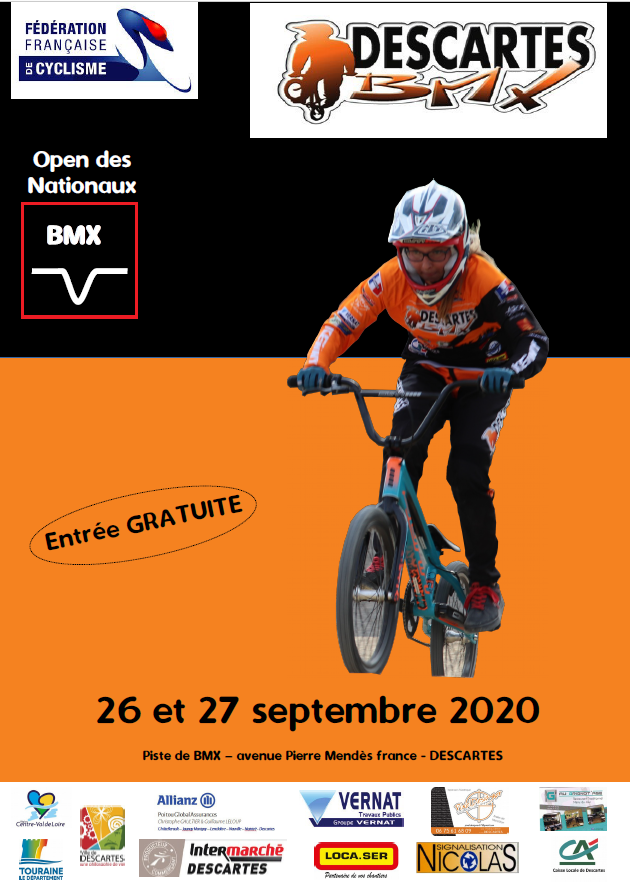 Invitation : Open des nationaux à Descartes