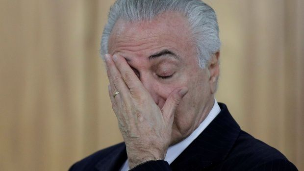 BBC - Brazil's Michel Temer charged with corruption