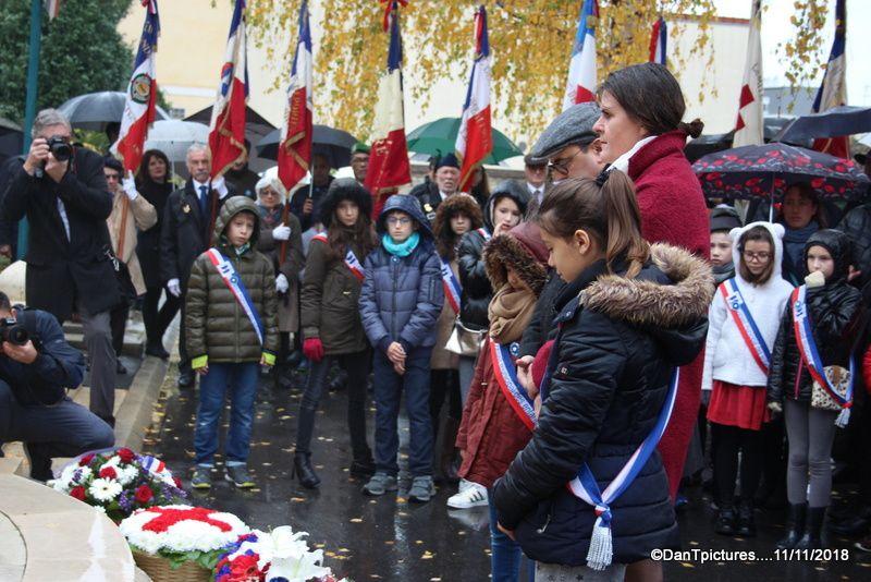 Le centenaire de l'armistice de 1918, dignement célébré à Joinville-le-Pont.