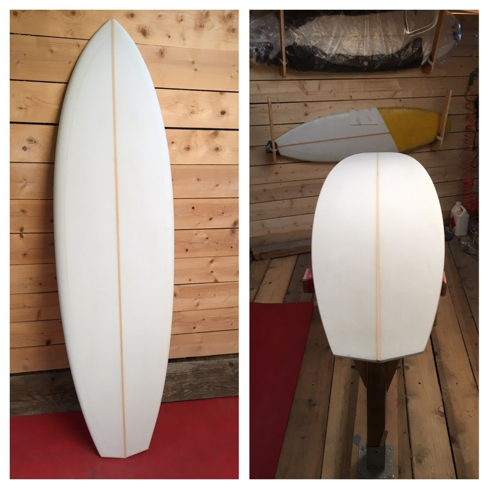 5'10 BOTHEJESS Surfboard