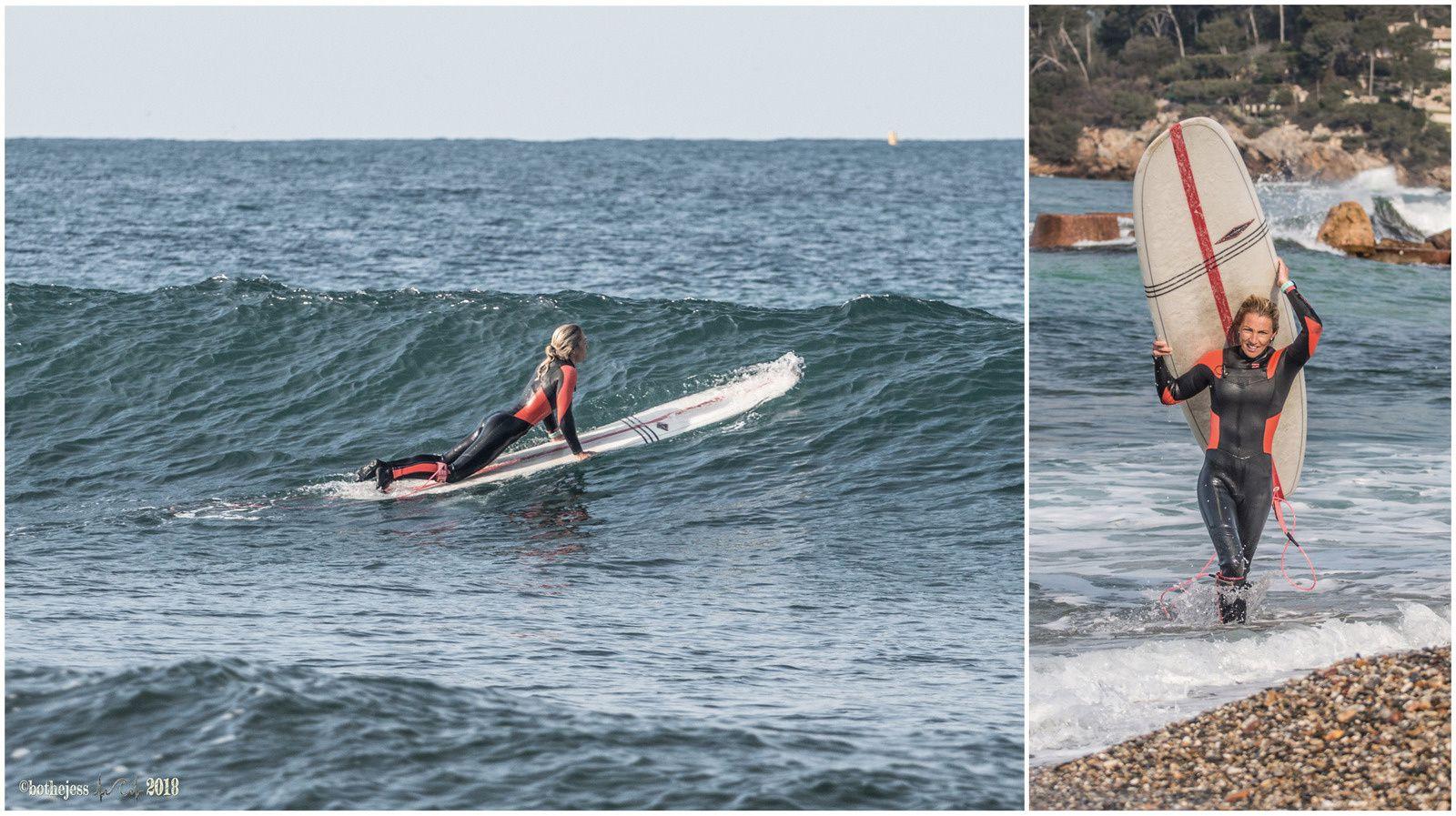 surfing/climbing