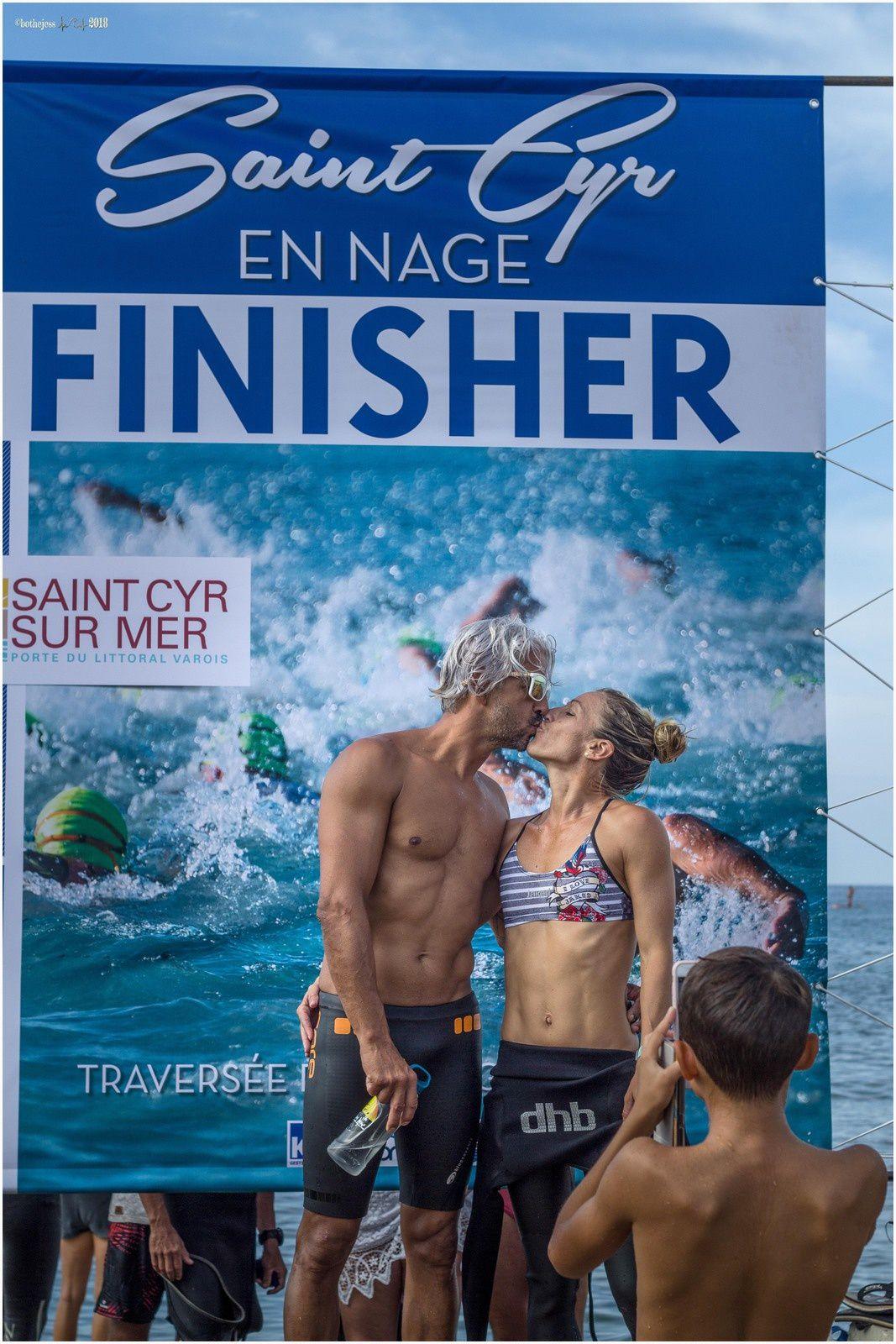 Saint Cyr en nage