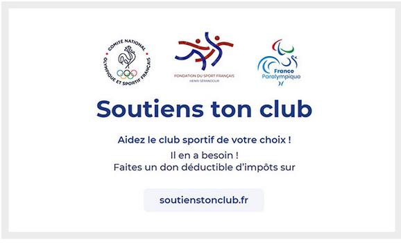 NON REMBOURSEMENT  ET SOUTIENS TON CLUB