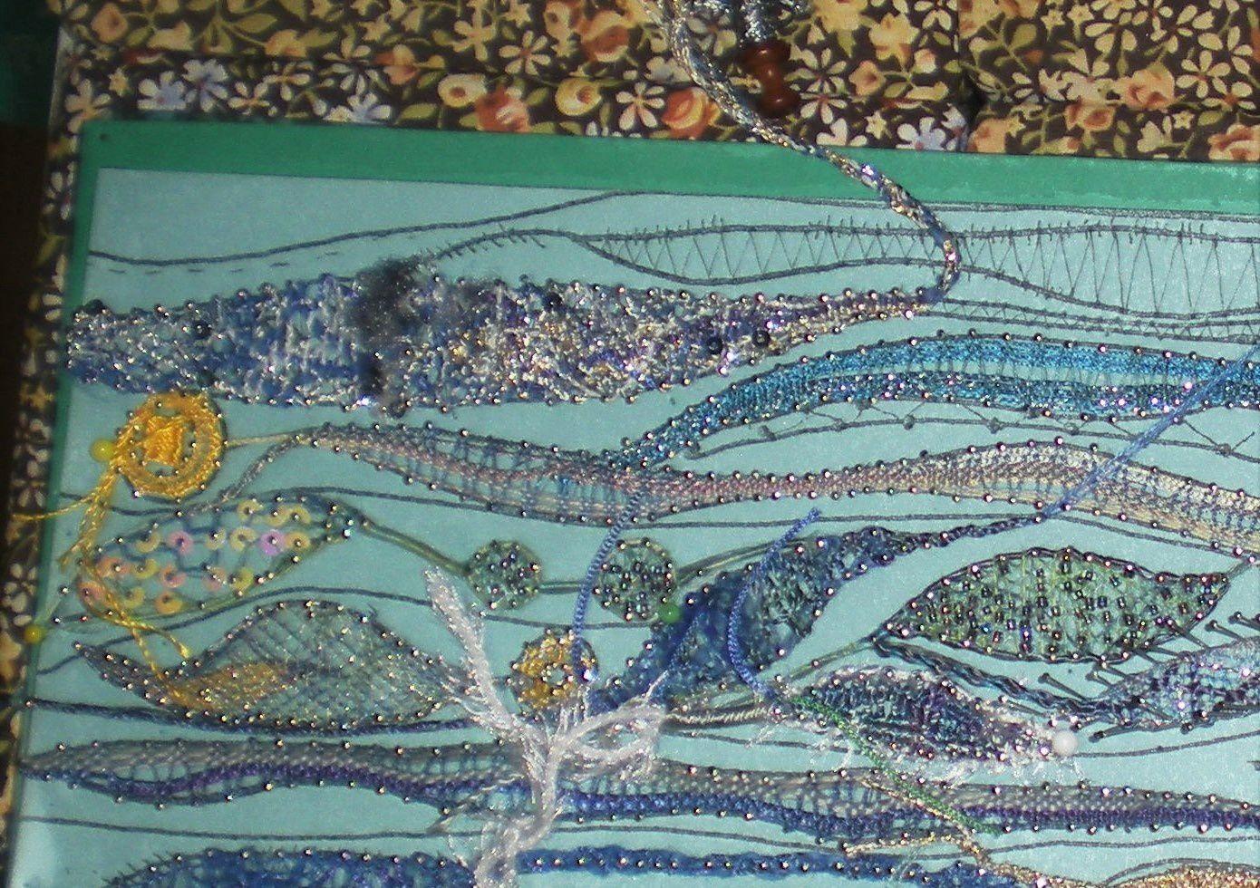 Art textile et dentelle.....suite