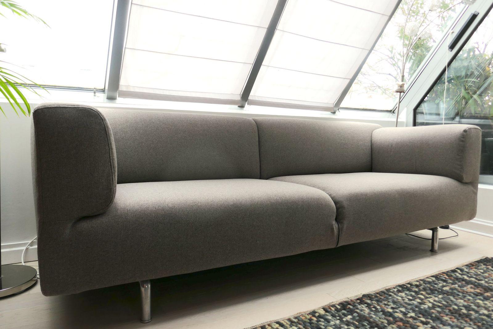 La canapé MET de Cassina, un revêtement sur mesure !