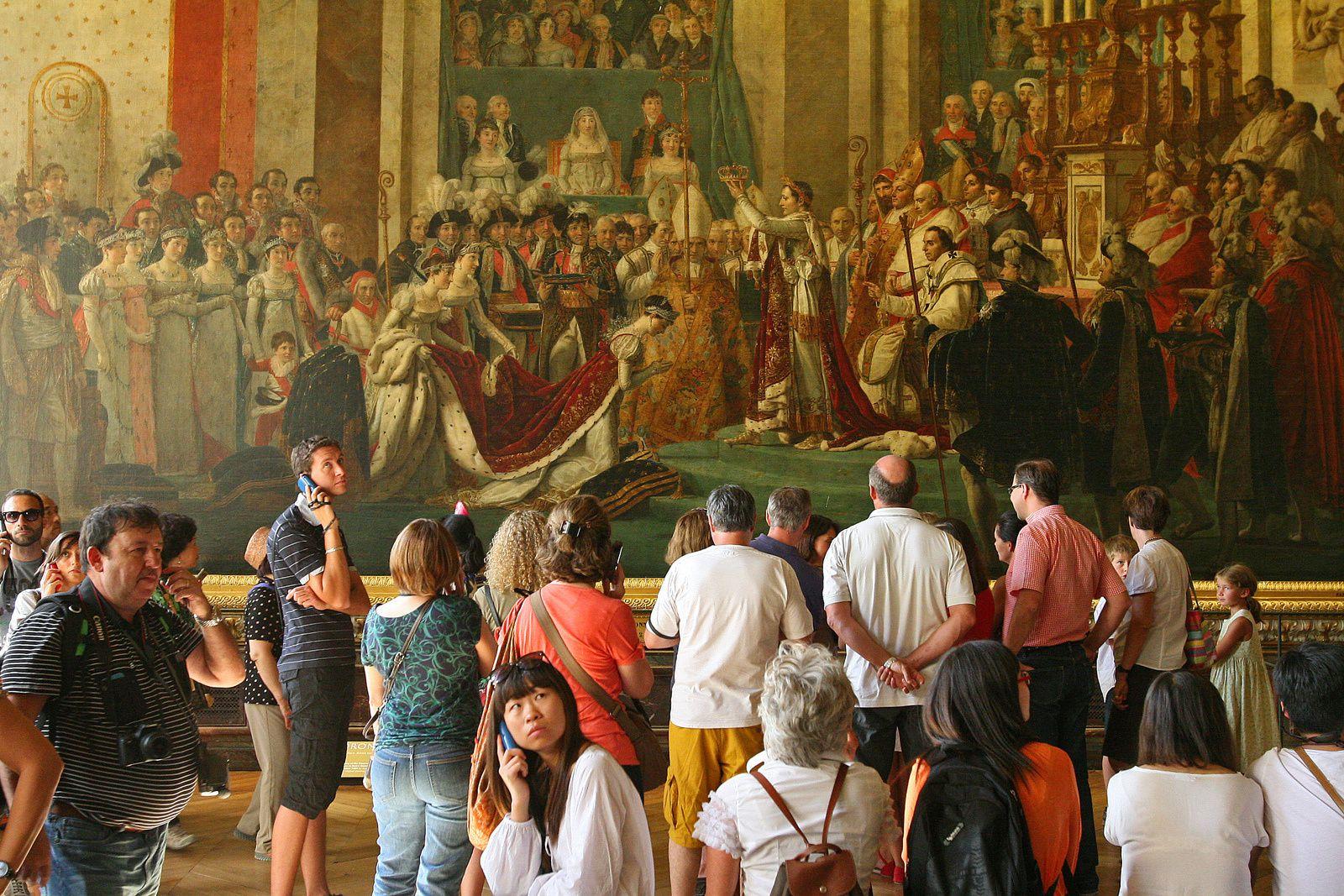 Touristes inspirés par Napoléon ... ou pas
