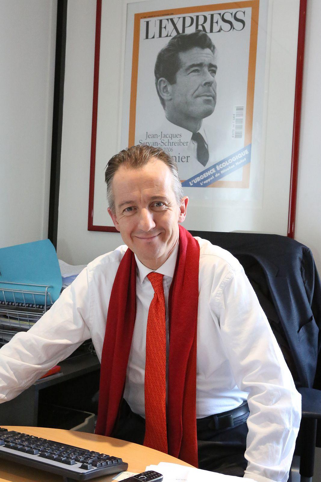 Christophe Barbier, directeur de L'Express