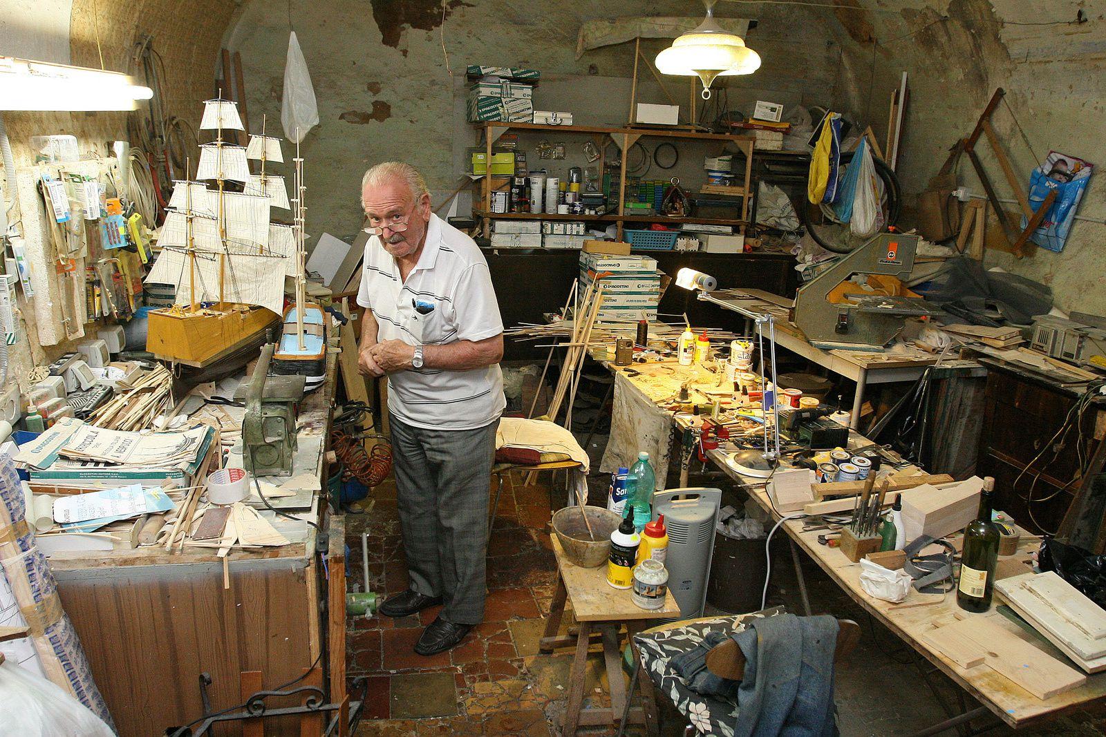 L'atelier d'un charmant bricoleur sarde