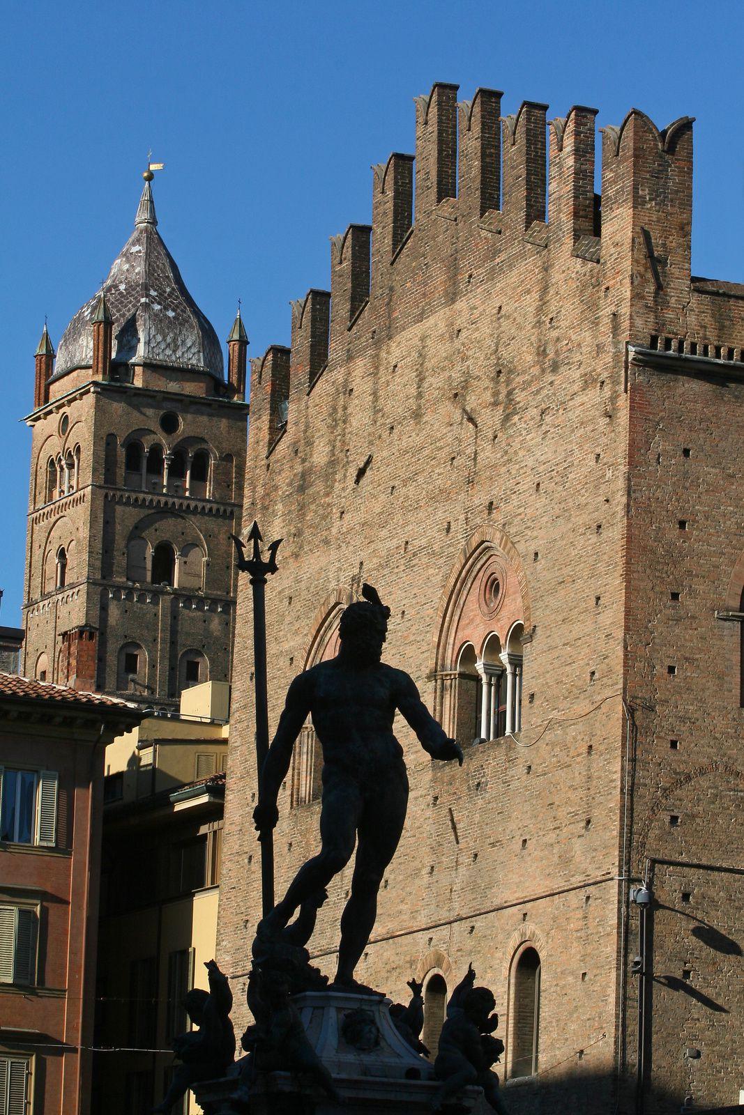 Ombre et lumière à Bologne