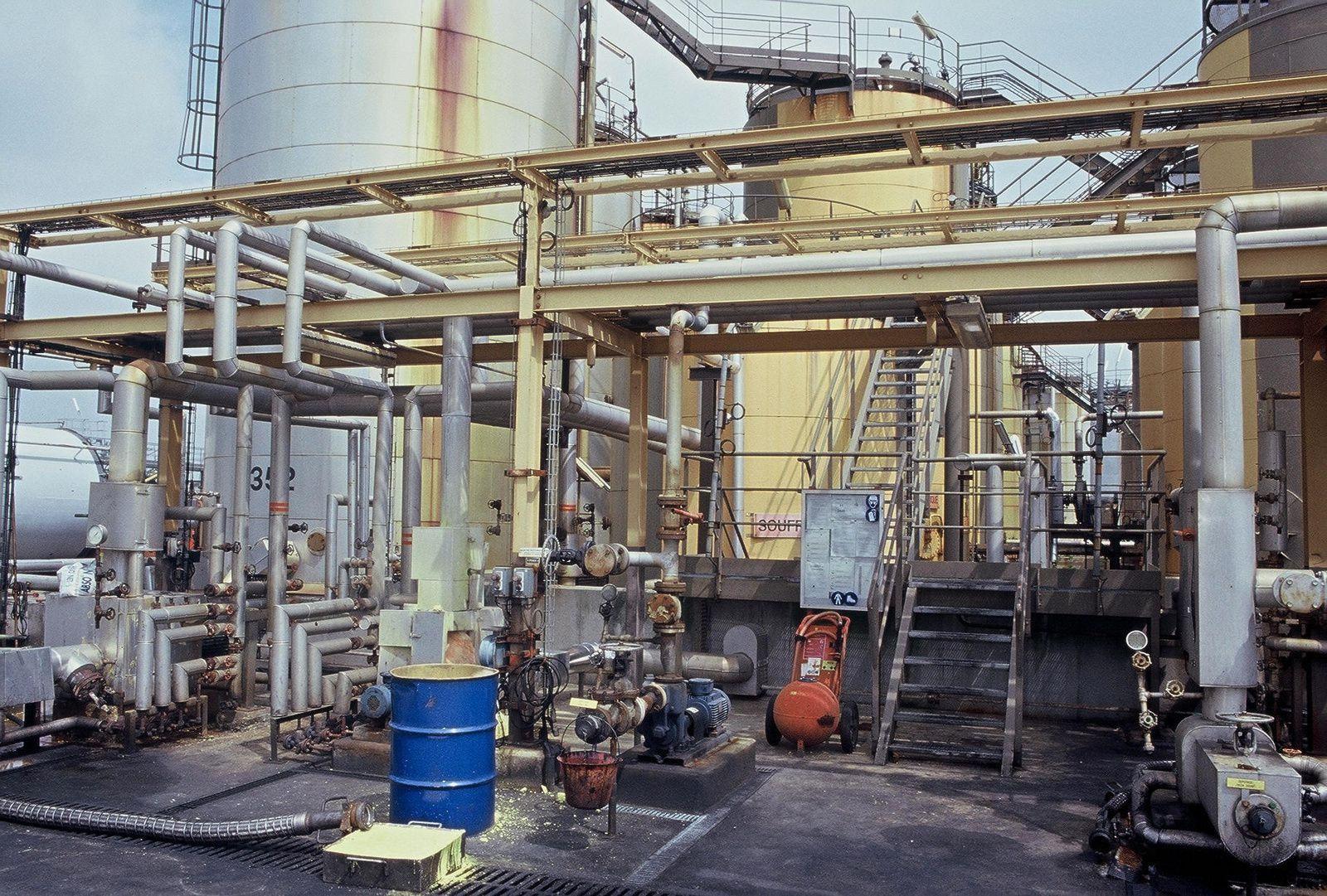 Site industriel près du Havre
