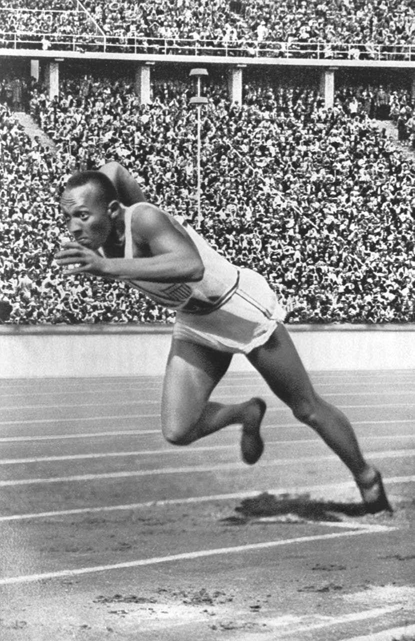 «Jesse OWENS (1913-1980), l'athlète noir qui a défié les démons du racisme», par M. Amadou Bal BA - http://baamadou.over-blog.fr/