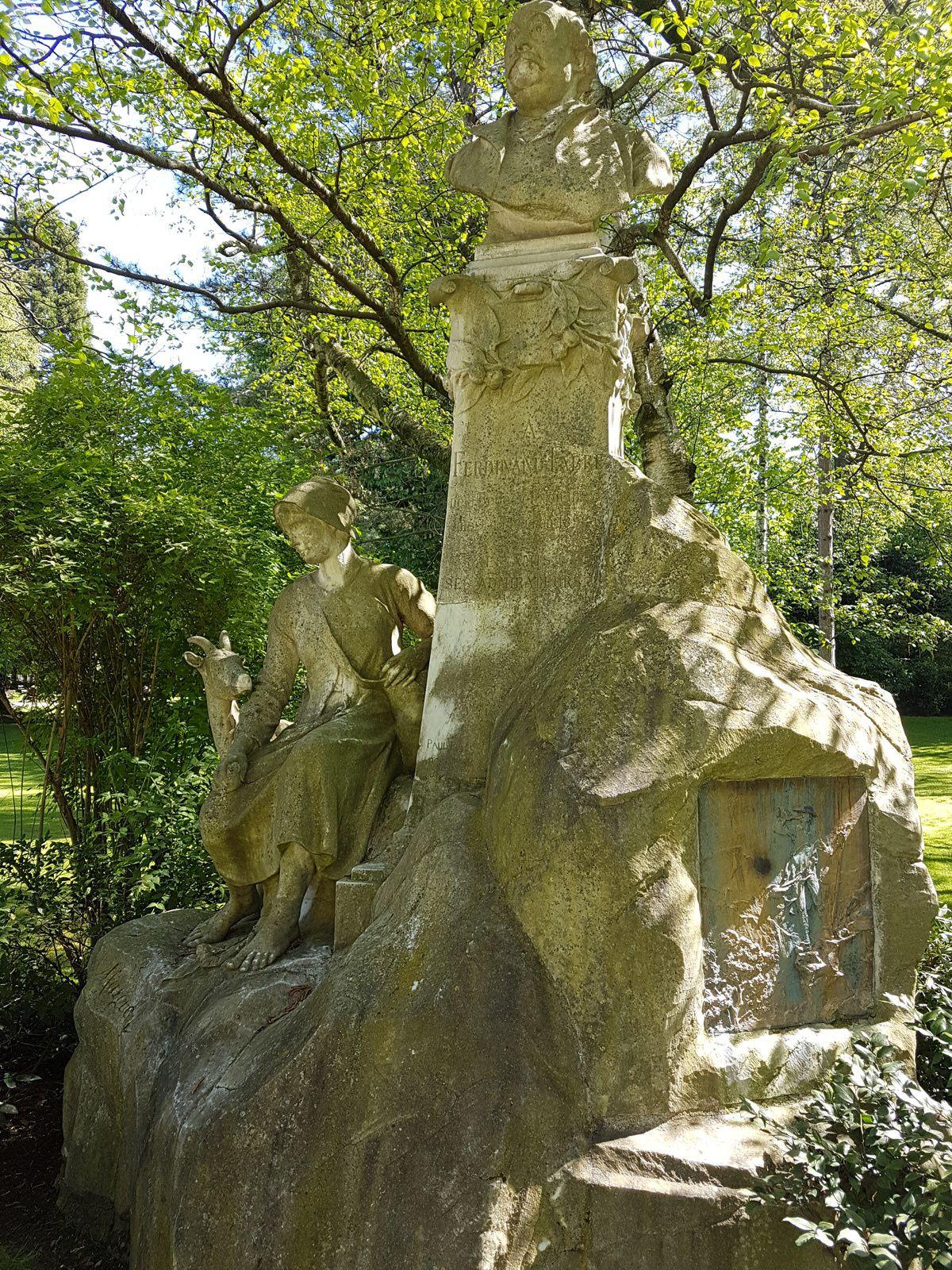 Le  Jardin du Luxembourg, un merveilleux endroit en plein Quartier Latin.