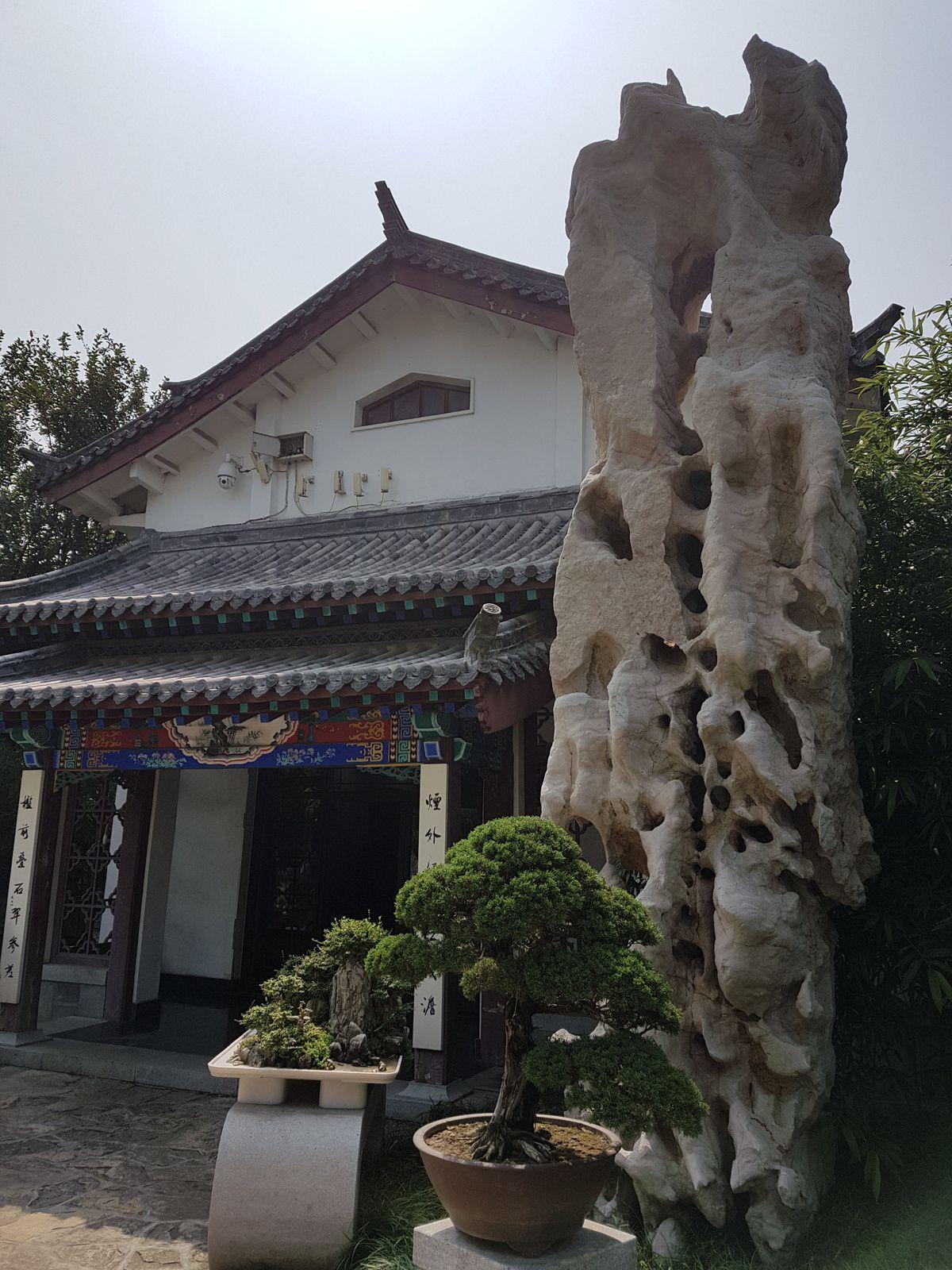 Jinan, capitale du Shandong, en Chine, avec son Lac Daming et sa Source Daotu.