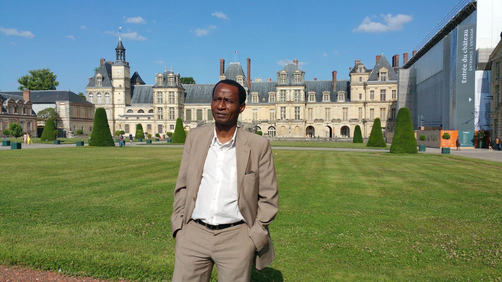 Le château de Fontainebleau (Yvelines).