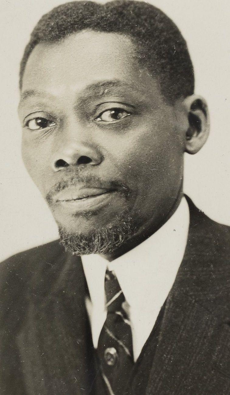 Blaise DIAGNE, député du Sénégal à l'Assemblée nationale française de 1914 à 1934.