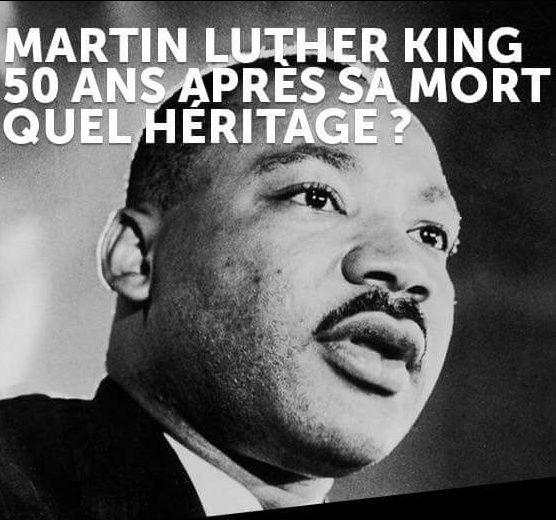 """Martin Luther KING et son """"rêve"""" d'un monde meilleur, plus juste et plus fraternel."""