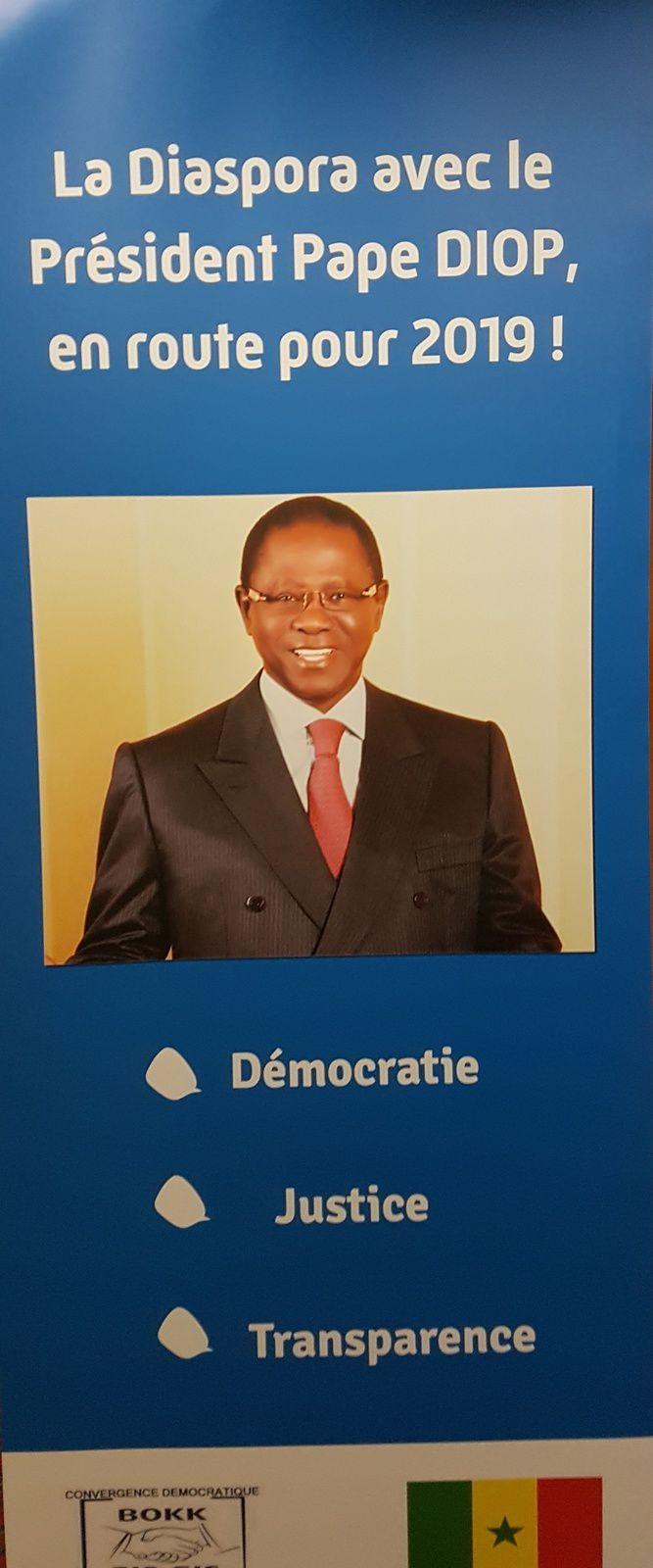 «Pape DIOP, de Convergence démocratique, confirme sa candidature aux présidentielles et divise encore plus l'opposition», par M. Amadou Bal BA - http://baamadou.over-blog.fr/