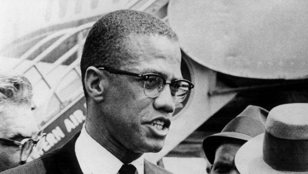 Malcolm X (1925 - 1965).