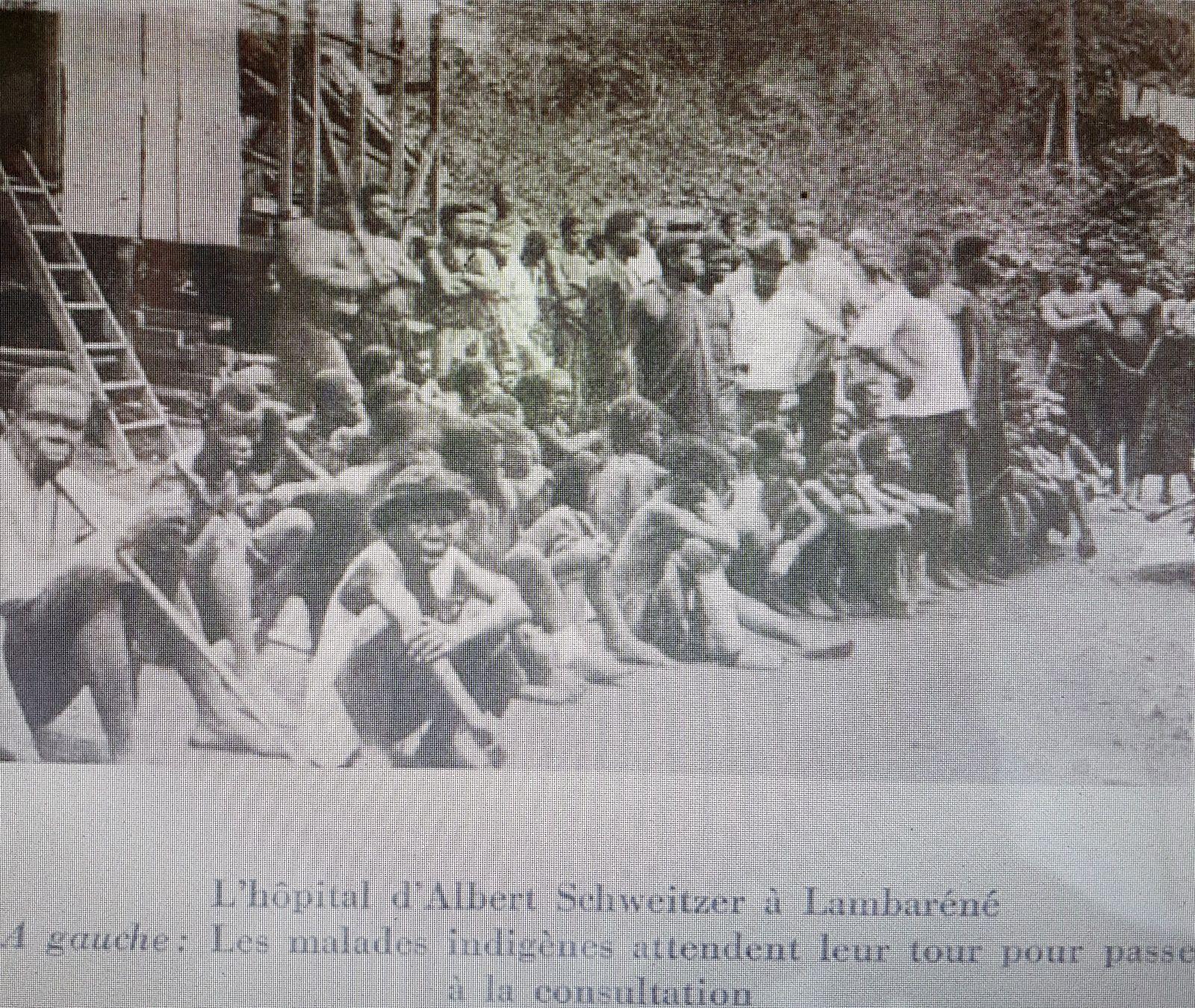 Albert SCHWEITZER, prix Nobel de la paix, l'homme de Lambaréné.