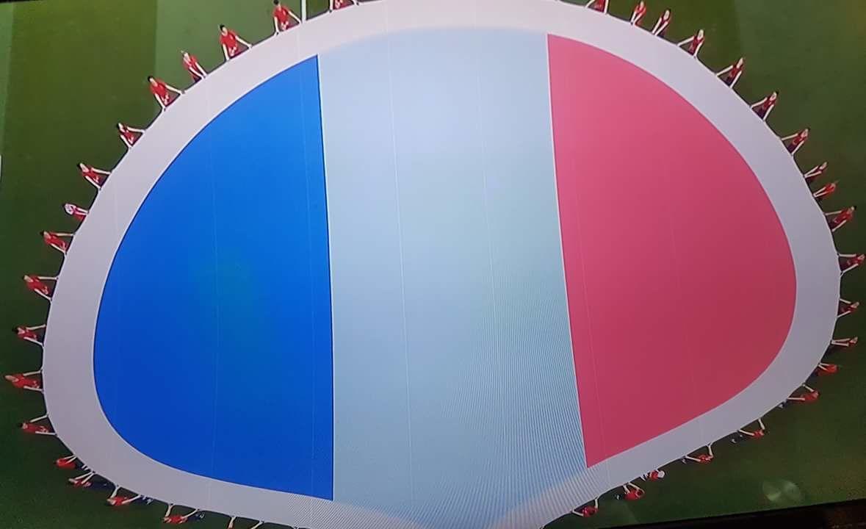 L'Afrique est derrière la France. Allez les Bleus !