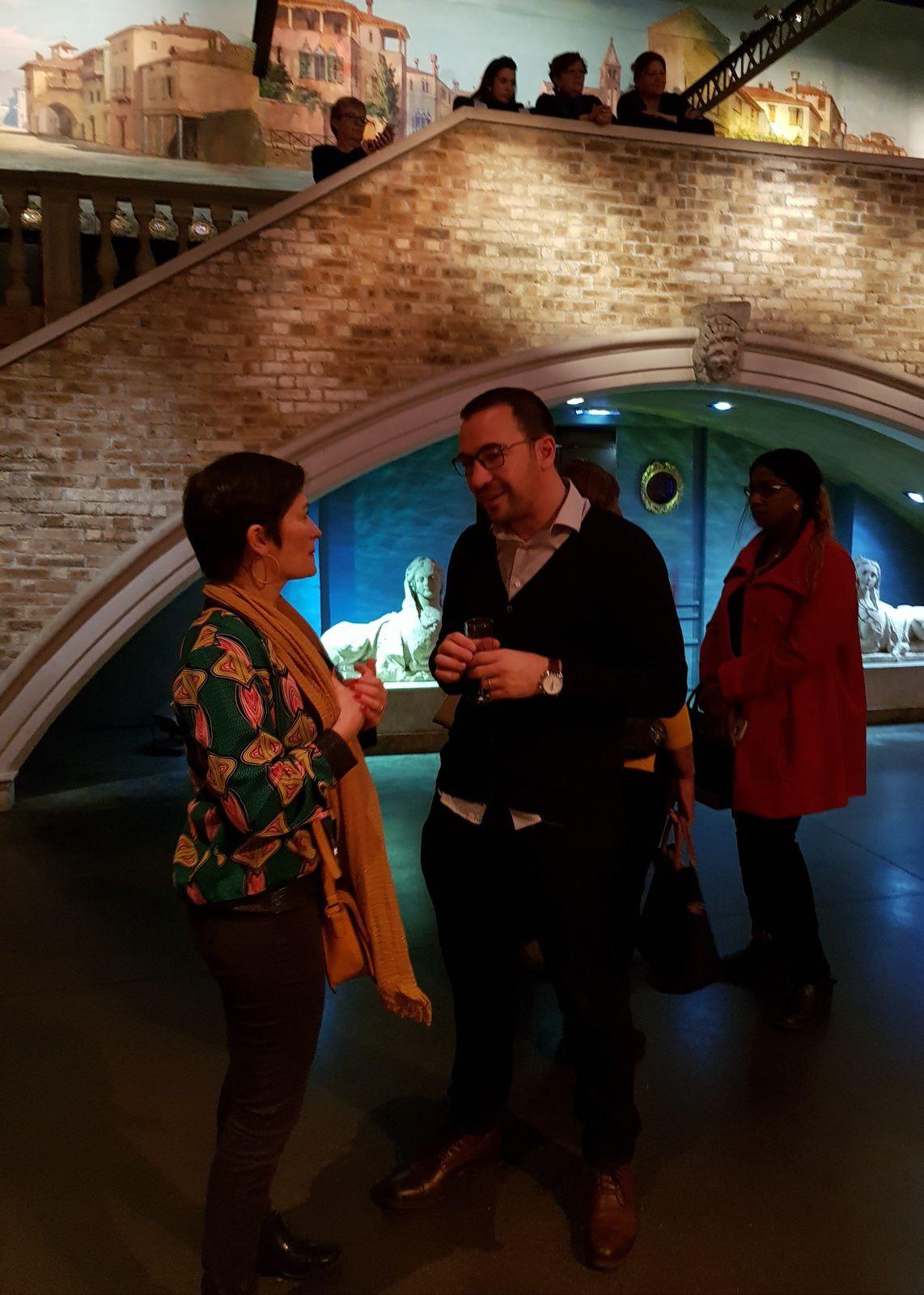 """""""Un repas du personnel au Musée des Arts Forains, à Paris 12ème"""" par M. Amadou Bal BA - http://baamadou.over-blog.fr/"""
