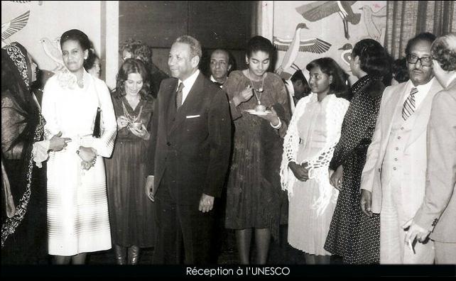 M. Amadou Maktar M'BOW, ancien ministre, ancien DG de l'UNESCO, un sage de l'Afrique.