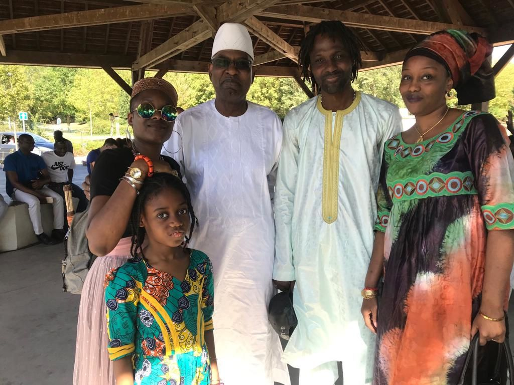 Maitre Malick SALL avocat et Garde des Sceaux Ministre de la Justice du Sénégal rencontre avec la diaspora sénégalaise en France