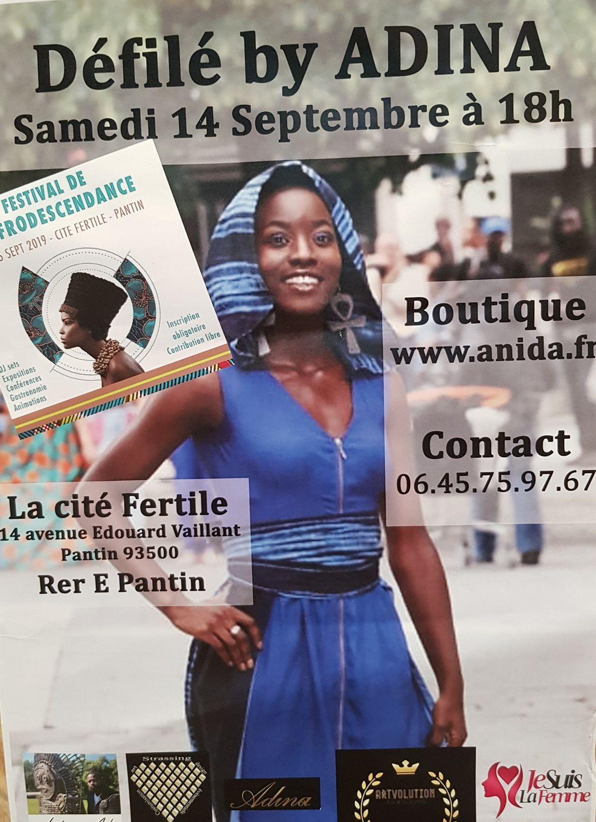 «Festival de l'Afro-descendance, Pantin, 13-15 septembre 2019» par M. Amadou Bal BA - http://baamadou.over-blog.fr/