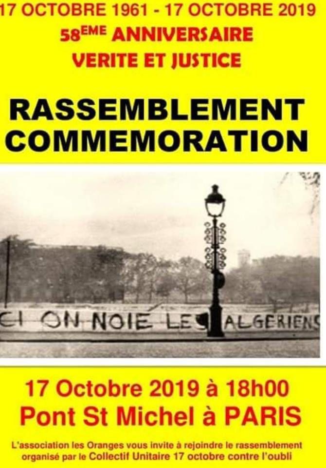 «Le 17 octobre 1961: des Algériens ont été jetés à la Seine, un crime contre l'Humanité» par M. Amadou Bal BA - http://baamadou.over-blog.fr/