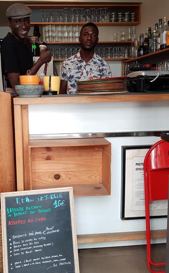«Le Restaurant, «Le Petit Dakar», symbole du Sénégal en plein du Quartier du Marais, à Paris» par Amadou Bal BA - http://baamadou.over-blog.fr/