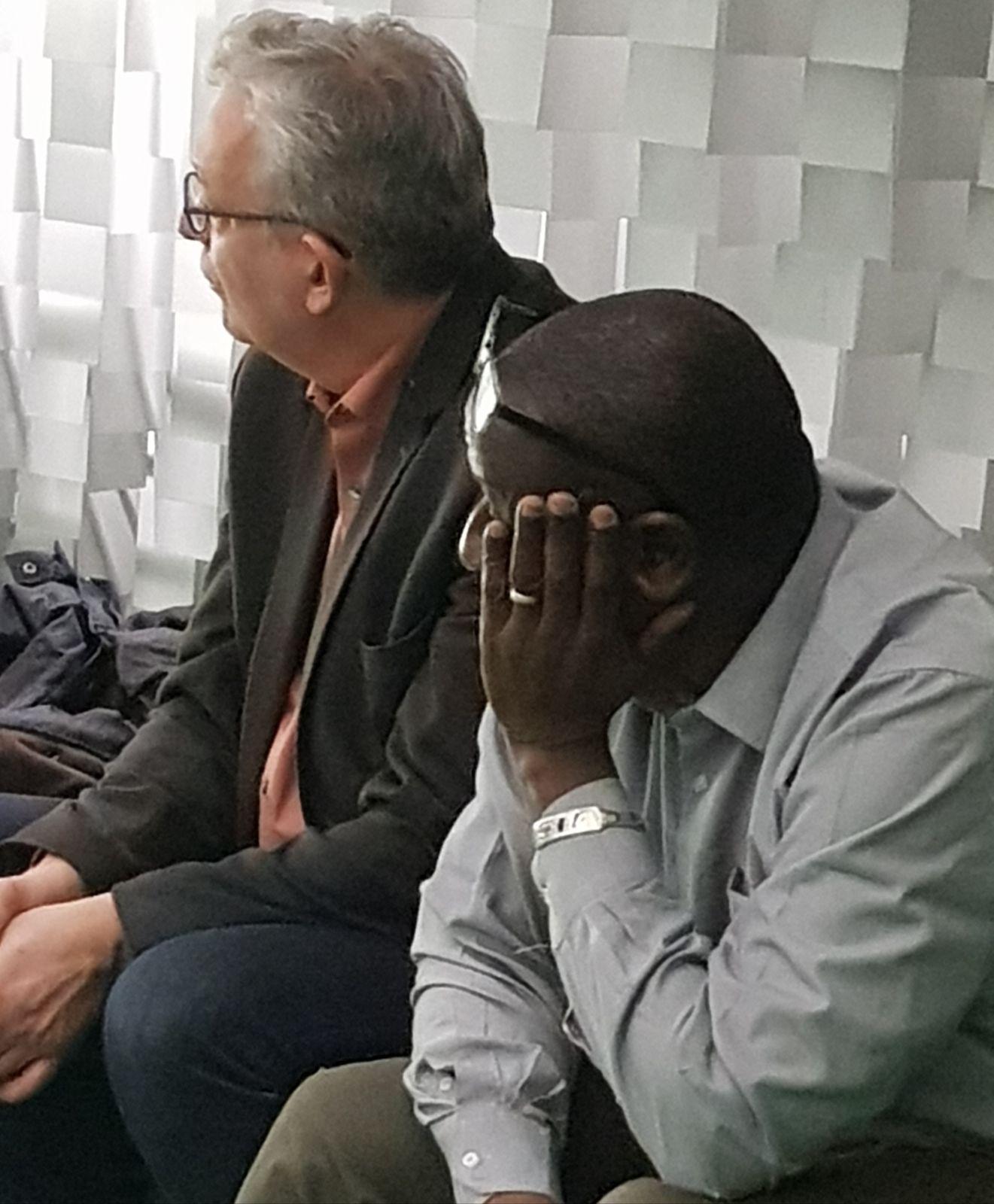 «Amath DANSOKHO hommage du Parti Communiste français, à la Place Colonel» par Amadou Bal BA - http://baamadou.over-blog.fr/