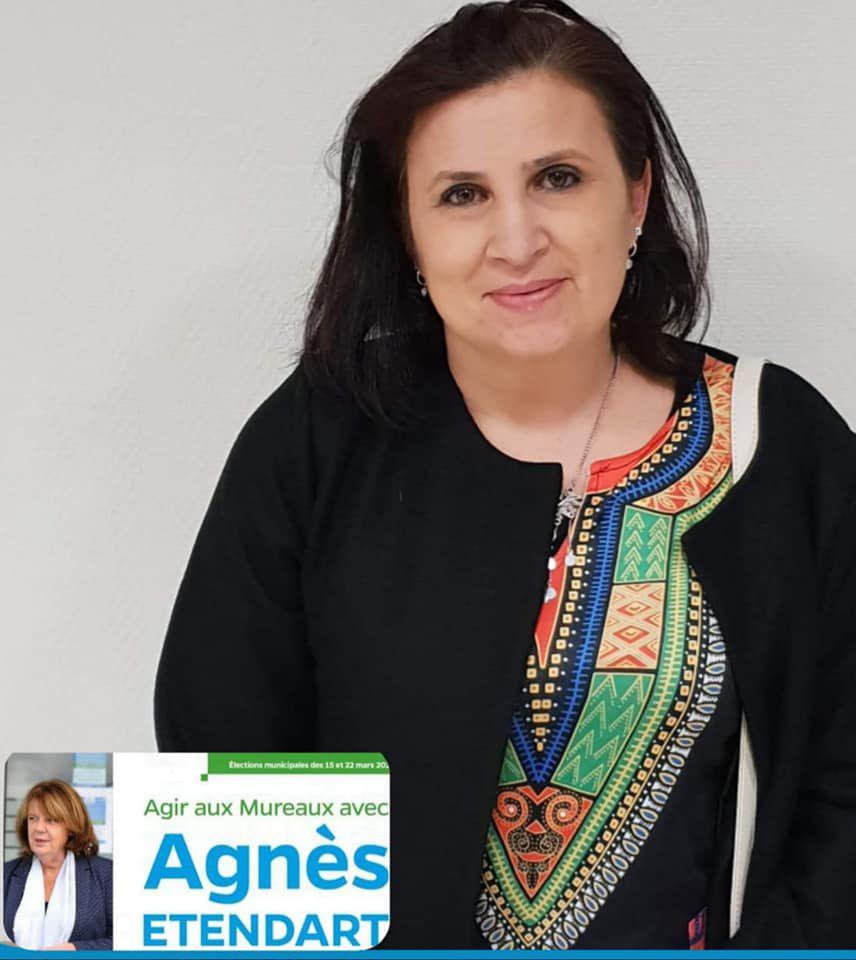 Céline BOUJJA, une parente d'élève, une pasionaria au service d'Agir aux Mureaux avec Agnès ETENDART» par M. Amadou Bal BA - http://baamadou.over-blog.fr/
