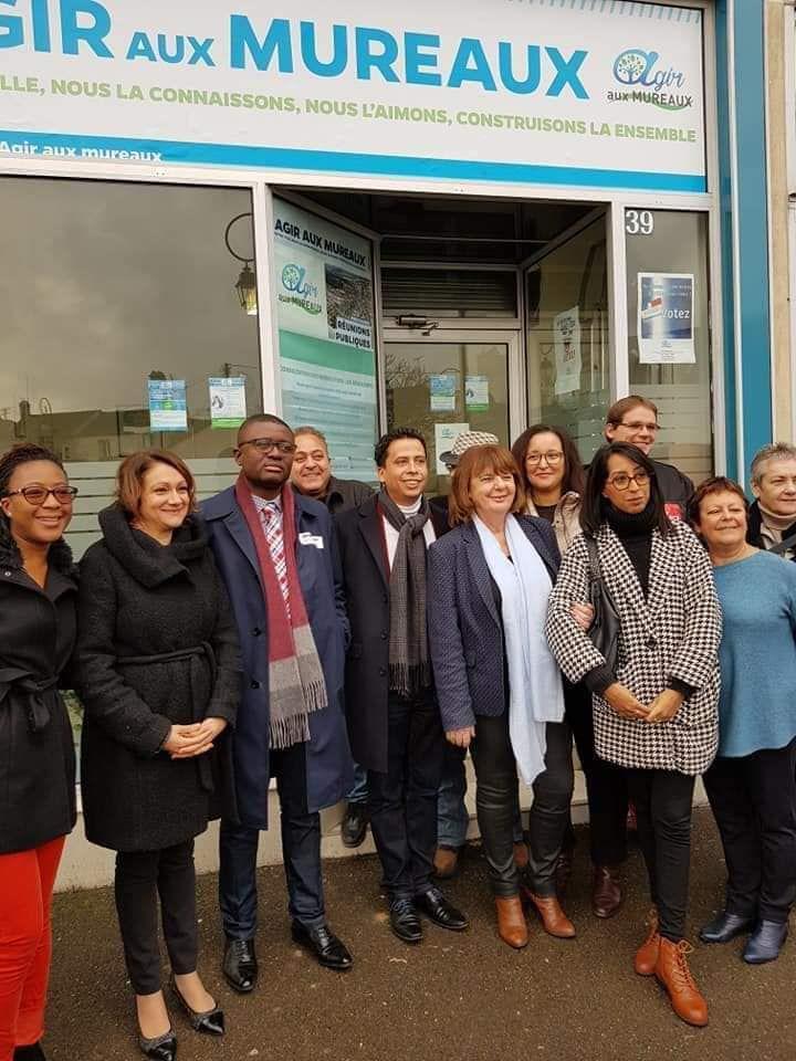 «Mme Fatima CUNY, écologiste et conseillère municipale d'opposition, soutient Agir aux Mureaux avec Agnès ETENDART» par M. Amadou Bal BA - http://baamadou.over-blog.fr/